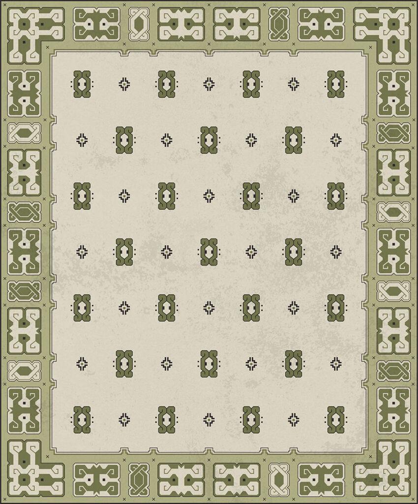 PR_Grafisch ontwerp tapijt voor in De Inktpot