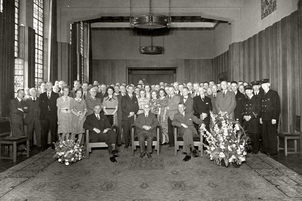 PR_Oude foto van vergaderzaal in De Inktpot in Utrecht