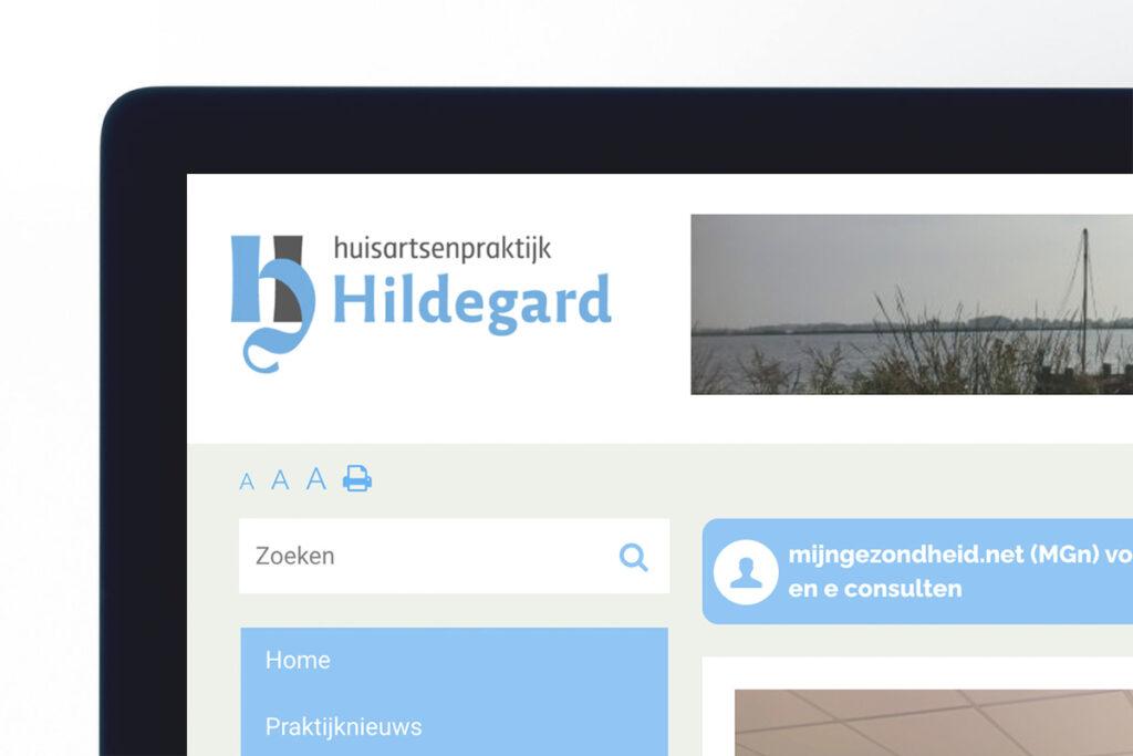 Logo op website huisartsenpraktijk Hillegersberg