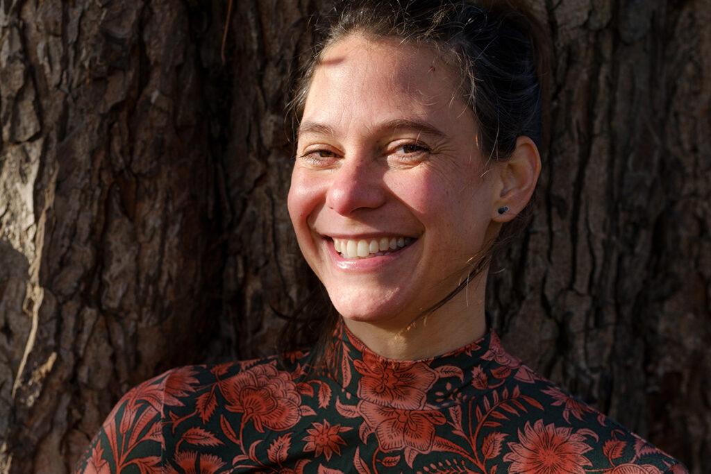 Portret Audrey Hartman